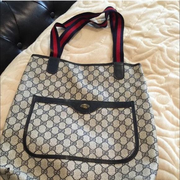 fd565948db3d Gucci Handbags - Vintage Gucci Tote Bag FLASH SALE 👀👀👀