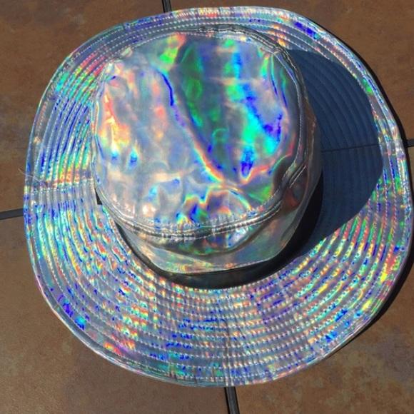 b3da8ce3954ae Holographic sun safari hat. M 57b30ad956b2d6f1490008d0. Other Accessories  ...