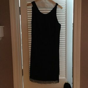 Black Flapper Dress (Lilly Pulitzer)