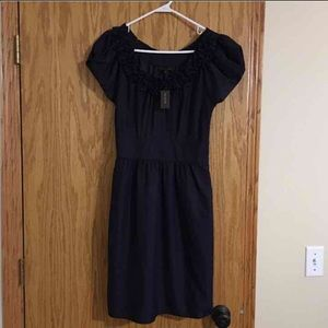 The Limited deep plum dress