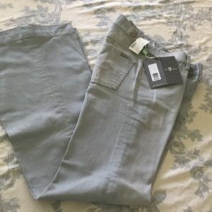 NWT 7 for all mankind Seven Ginger wide leg jeans