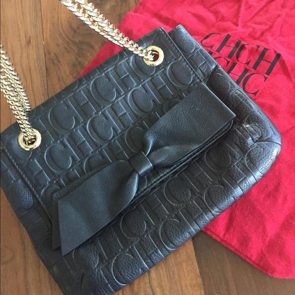 92b2841dfb Carolina Herrera Handbags - Carolina Herrera Audrey Bow Bag