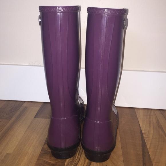 47% off UGG Shoes - Women\'s Ugg Shaye Rain Boot size 12 color plum ...