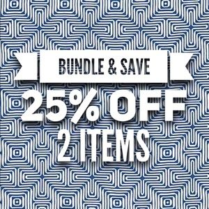 Accessories - 25% off two items or more!