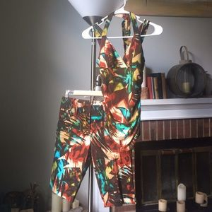 Cache Other - Cache 2 piece halter top and Bermuda shorts