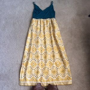 Anthropologie Dresses & Skirts - Anthropologie maxi dress with pockets