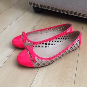 Kate Spade leather ballet flats