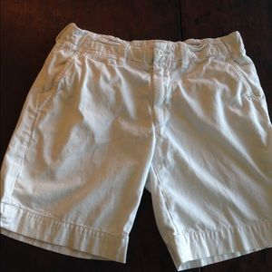Polo Ralph Lauren Men's White/Cream Shorts Size 35