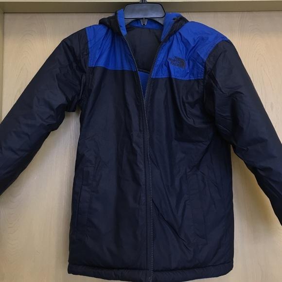 699715de13 The north face boys reversible true false Jacket. M 57b32fa1eaf030ddcd003cb0