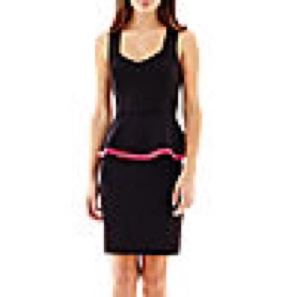 Nicole By Nicole Miller Dresses Nicole Miller Black Peplum Lbd