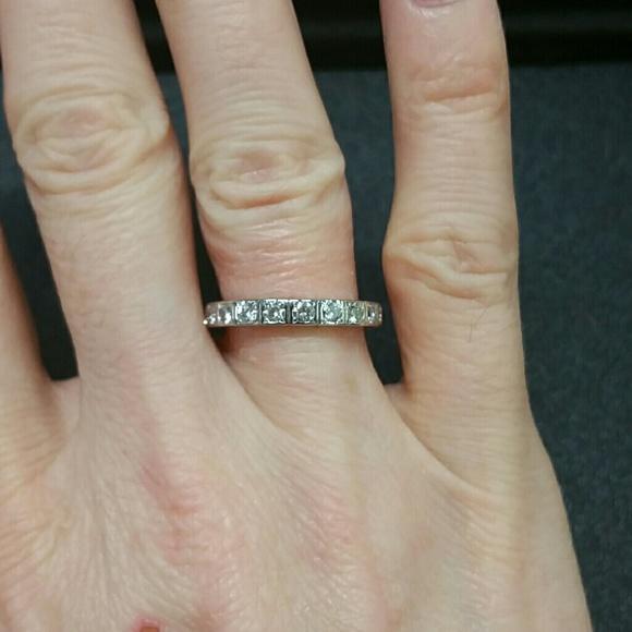 off Cartier Jewelry Cartier Lanieres Diamond Ring 50 18k