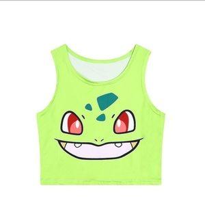 Pokemon crop top
