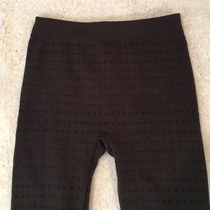 Riviera Pants - Brown Leggings with Fur inside