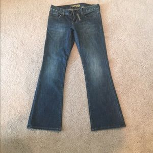 NWT Express Jeans size 2S Stella Boot Cut