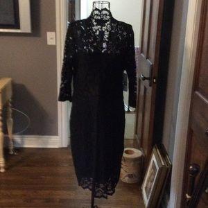 Dresses & Skirts - Lace black dress