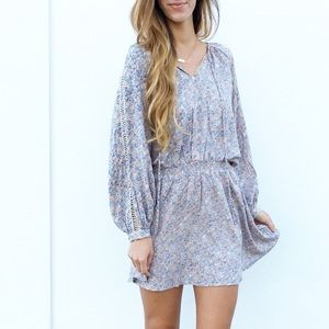 LAST ITEM | new | mocha floral dress