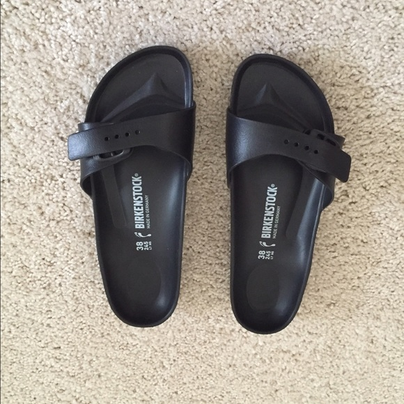 8015c7919fc Birkenstock Shoes - •Sale• Black Madrid EVA Birkenstocks