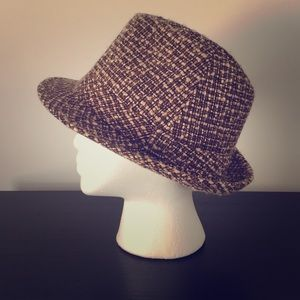 Accessories - On-trend wool fedora. Perfect for spring!