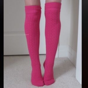 UGG Accessories - Cable Knit Over The Knee Socks Thigh High Boot OTK