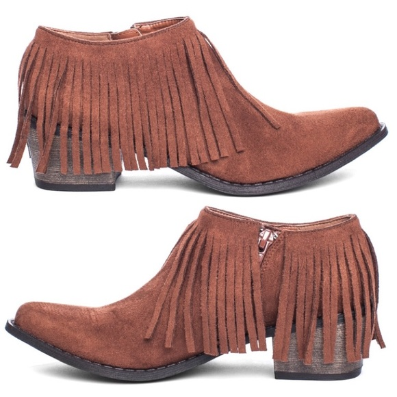 29% off Free People Shoes - 🎉HP🎉 Free People Fringe Boots ...