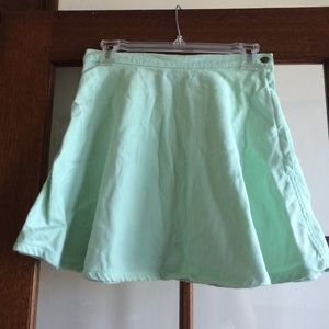 American apparel jeans mint circle skirt