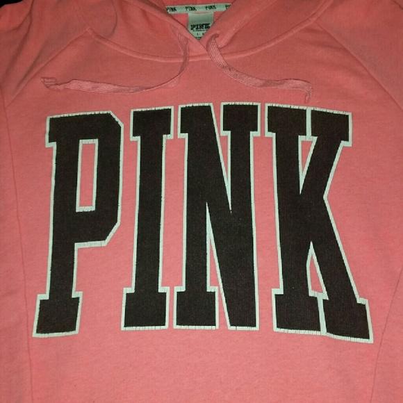 Victoria Secret Pink Hoodies Xl 57