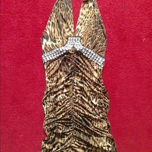 Dresses & Skirts - Leopard cocktail dress