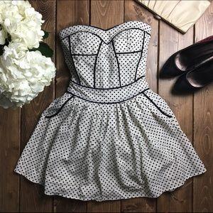 ✨HOST PICK✨ EUC Polka Dot Dress by Sugarlips