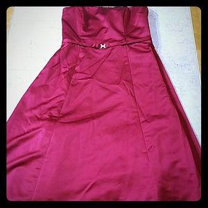 Candyapple Red Dress Prom David's Bridal sz 16