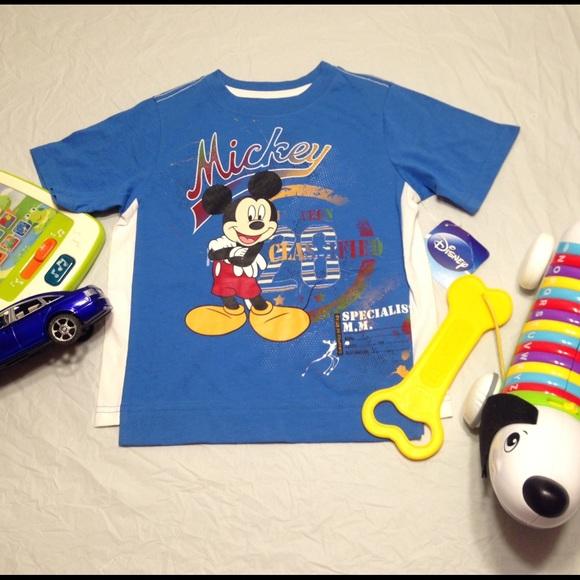 82548fb6cf5 4T Boys Disney Mickey Mouse t-shirt