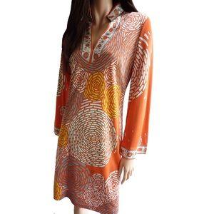 FLORA KUNG Dresses & Skirts - NWT FLORA KUNG silk jersey split neck dress