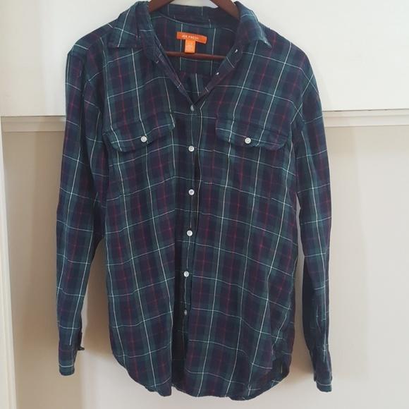 e985805d Joe Fresh Tops   Jcpenney Button Down Flannel Plaid Shirt   Poshmark