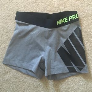 Nike Shorts - Grey Nike Compression Shorts