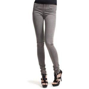 Helmut Lang Grey Skinny Jeans