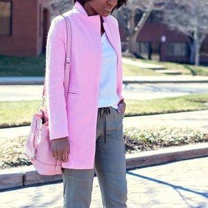 ROMWE Jackets & Blazers - Pink Coat