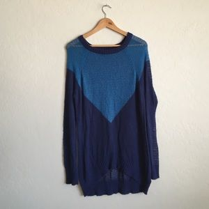 Cotton On Sweaters - Long blue sweater