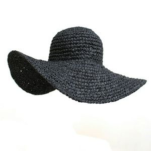 Accessories - ONLY ONE LEFT! Wide Brimmed Hat