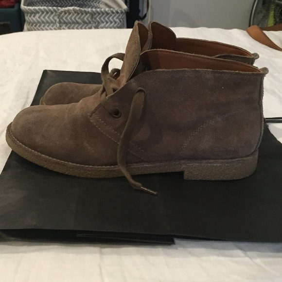 Lucky Brand Chukka Boot Size 8 Suede