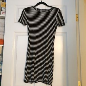 Brandy Melville Dresses & Skirts - Brandy Melville Black and white striped dress