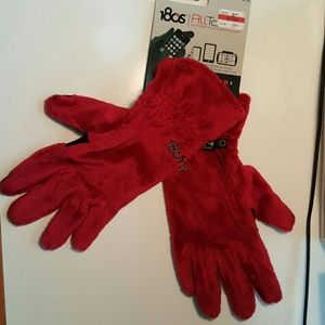 180s Accessories - X-Large Red Gloves-180s Tech All Touch PLush