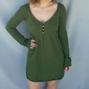 Chelsea & Violet Dresses & Skirts - Chelsea and Violet Green Sweater Dress