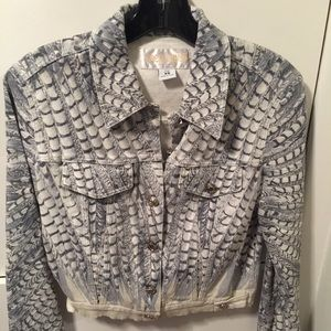 Roberto Cavalli Jackets & Blazers - Authentic Roberto Cavalli Denim Jacket!