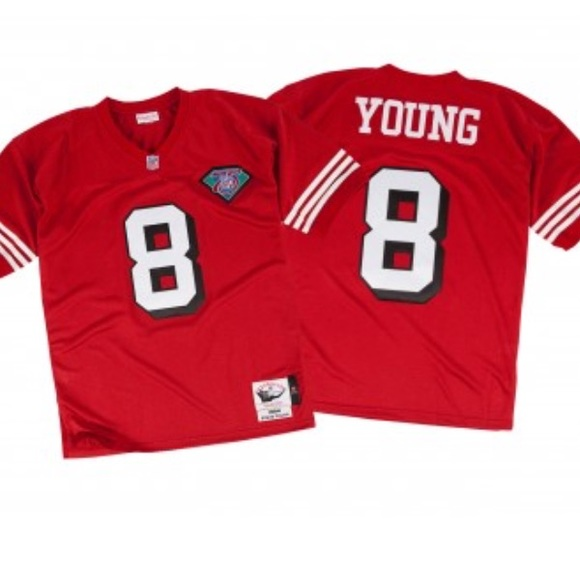 Jersey 1994 Ness Steve 49'ers Young Nwt amp; Mitchell