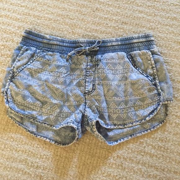 339a181ce9c Comfy Fake Denim Shorts