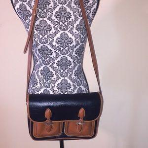Handbags - Black and Tan Shoulder Bag