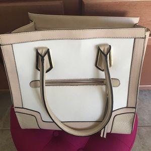 Handbags - 🍦White/Nude Satchel🍦