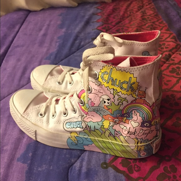 e0432e5150e Converse Shoes - Limited Edition Doodle Converse