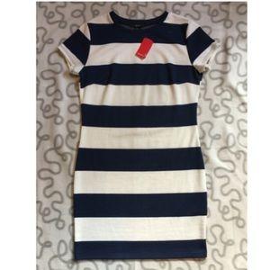 Forever 21 Nautical Stripe Dress