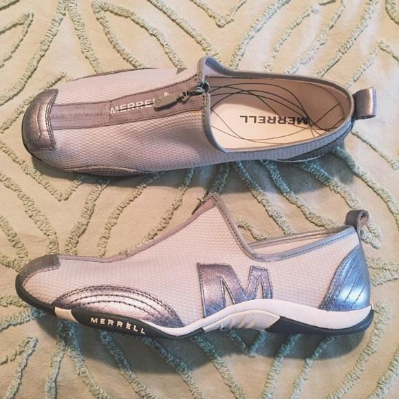 Merrell Shoes   Barrado Silver Merrell