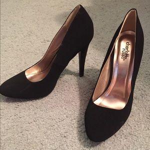 Charlotte Russe Black Heels